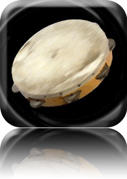 A Realistic Tambourine App Icon